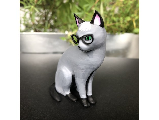 Realistic Raymond Cat Animal Crossing By Skelei Thingiverse