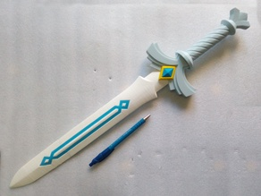 Link Goddess Sword (without painting)