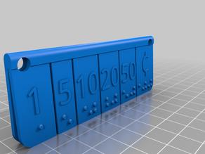 Click Pocket Money Braille embosser