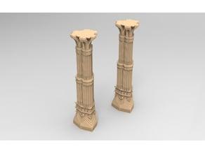 Large dwarf mine pillar, Moria, Erebor.