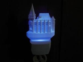 Corvin Castle Night Light