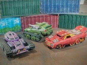 Tank Tracks and Kit for Gaslands
