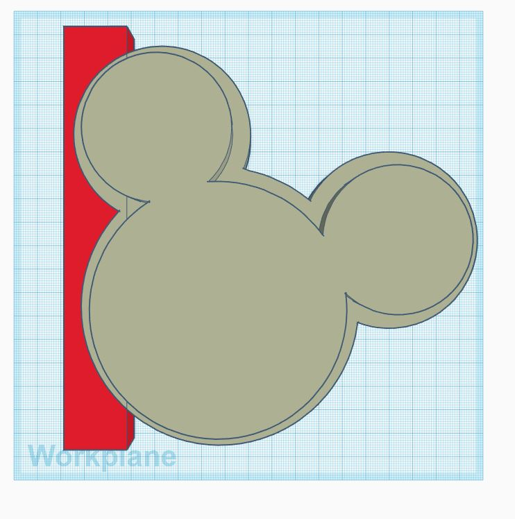 Mickey Mouse Ear Holders