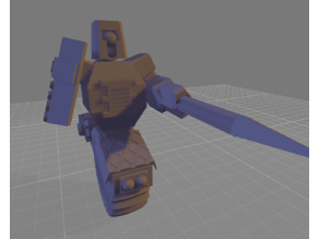Mono(Robot Junk Knight)