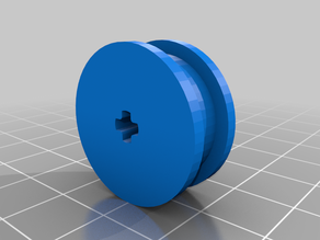 Lego-Compatible Pulley Wheels