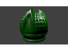 Dragon's Egg Candle Holder