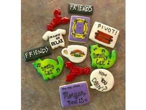Friends Cookie Cutters