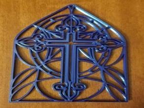 Cross Ornament 2019