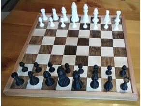 Tournament Size Chessmen