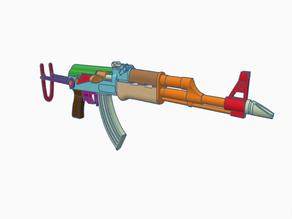 AK47 S   AKMS (model 1/4