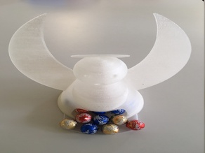 Angel chocolate dispenser / Engel Schokoladenspender