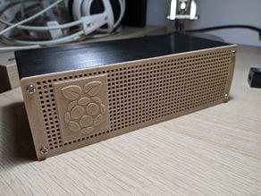 Raspberry Pi 4 NAS HDD SDD Case Enclosure Mini PC