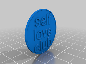 "pins/coin ""self love club"""