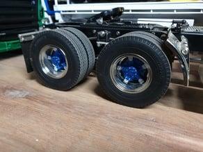 Spider inserts for Tamiya truck wheels