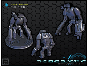 """""""R-CEE"""" Robot - 28-32mm gaming - The Ignis Quadrant"""