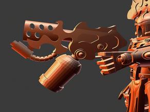 All is Dust Warpflame pistol