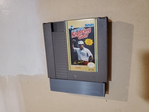 NES Game Cart Wall Holder
