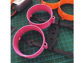 """Stronger Ducts for Donut"""" 3 Inch 140mm H-type Frame Kit"""