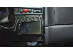 1 Din to 2 Din radio conversion