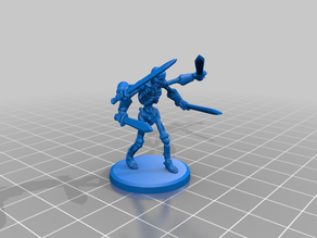 Tomb Guardian (4 arms skeleton)