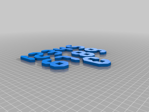 Numbers game puzzle thing
