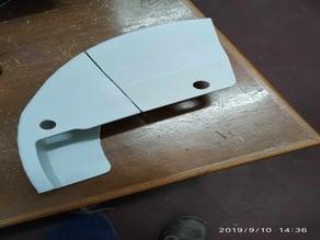 Shield of brake disc-Honda XR 400 in Parts