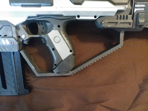 Custom Nerf Rapidfire Handguard
