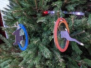 Portal Christmas Tree Ornament