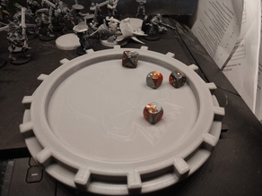 AdMech Dice Tray