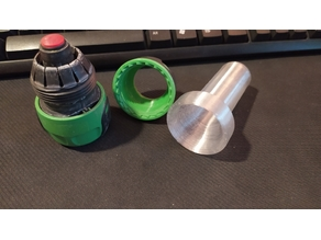 Adapter HDPE / PND 25mm to quick release garden connector