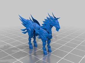 aenarion steed - dnd - magic beast - tm
