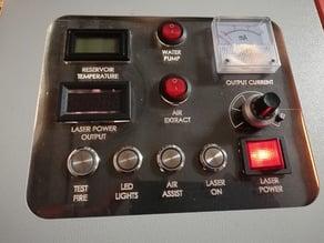 K40 laser panel