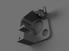Titan Extruder body modified for fit cheap chinese Trianglelab Aero heatsink