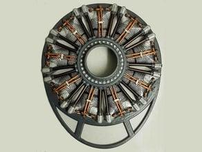 Dummy Radial 9 Cylinder Engine for H9 P47 Razorback