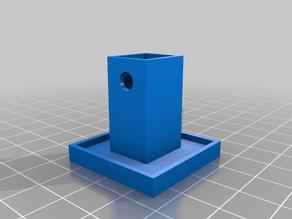 N20 Motor Mount - Vertical (shaft up) LEGO(r)-compatible V3