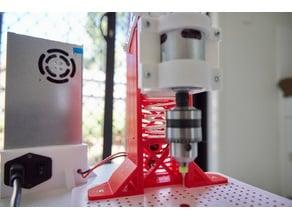 all 3d printed PCB press drill