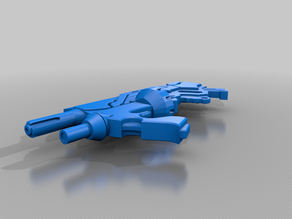 O12/Aleph Combi Rifle Light Grenade Launcher for Infinity: The Game