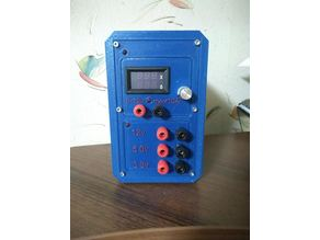 Lab ATX Power Supply Front Panel.. Remix