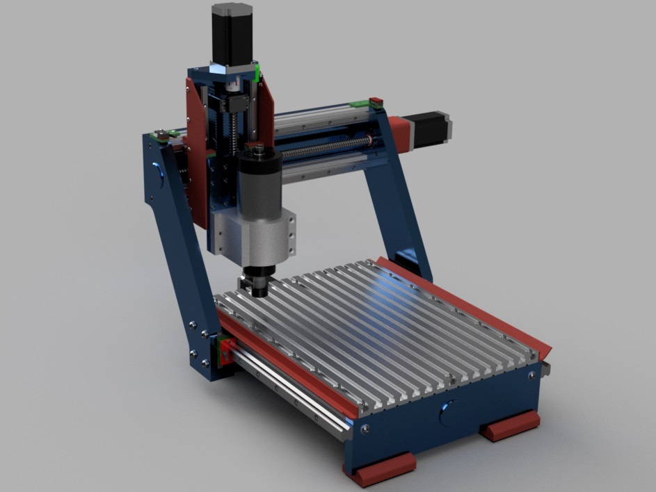 Rock Solid CNC Router with 1.5KW spindle