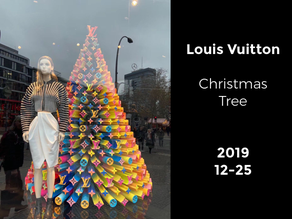 Louis Vuitton LOGO Christmas Tree