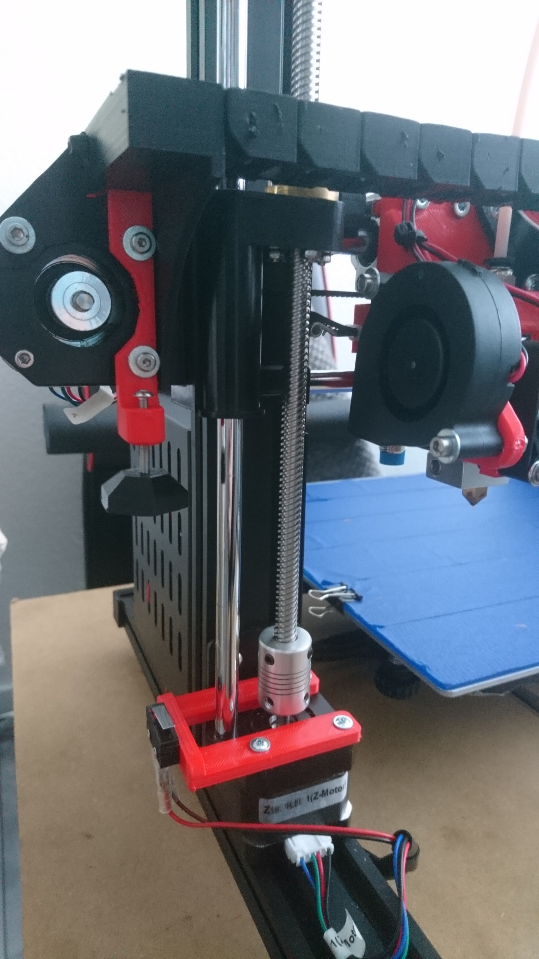 Anet A8/A8-Plus Z-Endstop for X-Axis Cable Chain