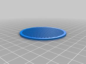 My Customized OpenSCAD parametric grid generator (round and rectangular)
