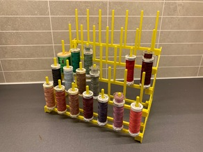 "Longer thread holders for ""Sewing Thread Spool storage (robust)"""