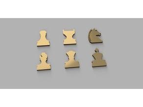 wall chess board