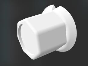 Knob 6 mm axis - 18/24/30 mm 3rd version