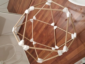 Buckminster Fuller's Jitterbug Cubeoctahedron