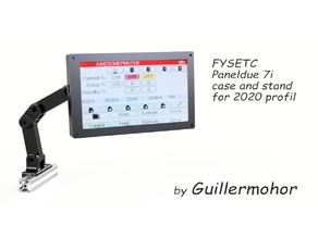 FYSETC Paneldue 7i case and stand for 2020 profil