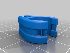 Anycubic i3 Mega S - Cable & Teflon tube clip