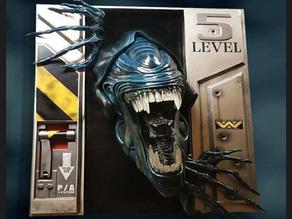 ALIEN Level 5 ( wip ) STL