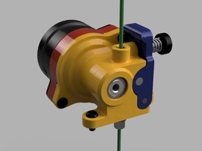 """The Orbiter"" 140g direct dual drive Extruder with up to 10 kg pushing force"